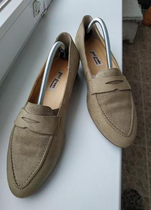 Paul green туфли лоферы мокасины натуральная замша