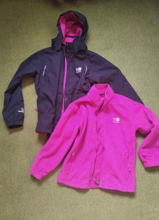 Туристическая двойная куртка