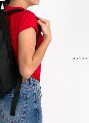Рюкзак «mavens rolltop» для ручной клади wizz air ryanair (40х20х25) цвет черный6 фото