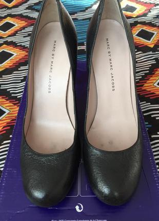 Классические туфли marc jacobs оригинал черные лодочки
