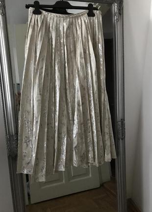 H & m conscious exclusive 2019 плиссированная юбка2 фото