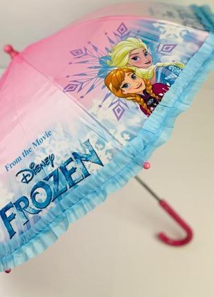 Зонт зонтик для девочки 2- 8 лет холодное сердце анна ельза