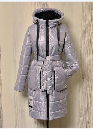 Демісезонне пальто 46-54 рр