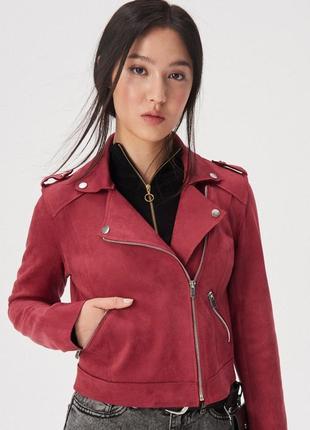 Шок цена, распродажа, бомбезная косуха, куртка, замш
