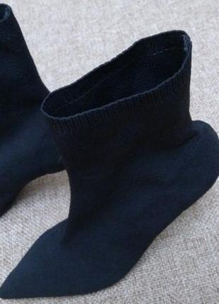Ботинки чулки mango