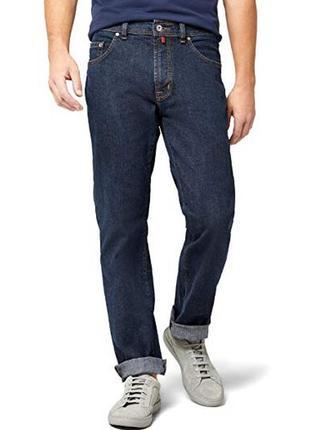 Брендовые темно-синие джинсы pierre cardin model dijon, w 33 l 30