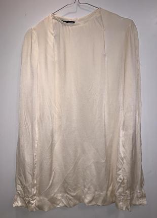Блуза шёлковая gianfranco ferre италия кремовая