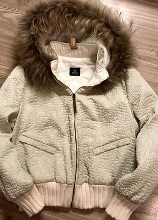 Versace куртка с натуральным мехом оригинал
