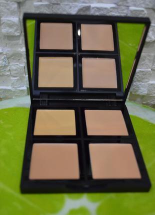 Палитра для контуринга, тональная основа e.l.f. cosmetics, foundation palette, fair/light