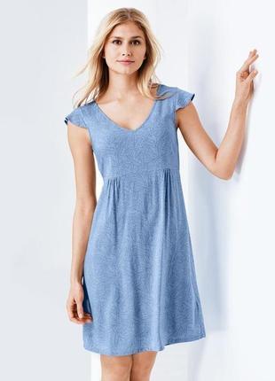 Нежная. необычайно легка ночнушка-платье tcm tchibo