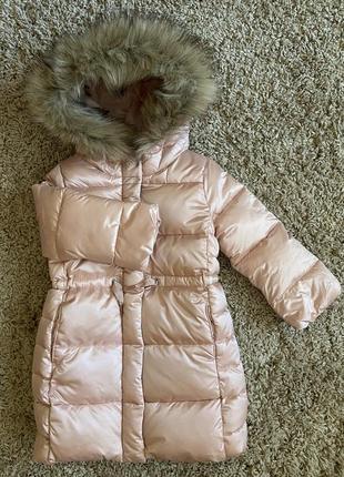 Gap пальто куртка зимняя 4т {99-107см}