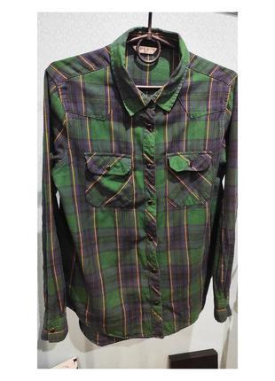 🖤 теплая рубашка в клетку2 фото