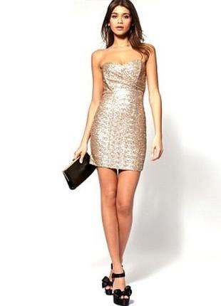 Новое,платье,пайетки, мини, сукня, плаття, серебряное,срібне