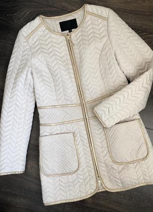Пальто куртка elizabeth franchi новая на тоненьком синтепоне