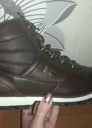 Кожаные ботинки helly hansen