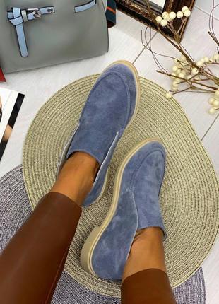 Рр 36-40 натуральный замш люксовые интересные туфли