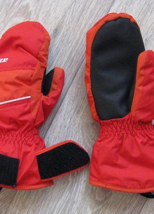 Рукавицы краги 7-8лет перчатки wedze франция рост 122-128 см варежки
