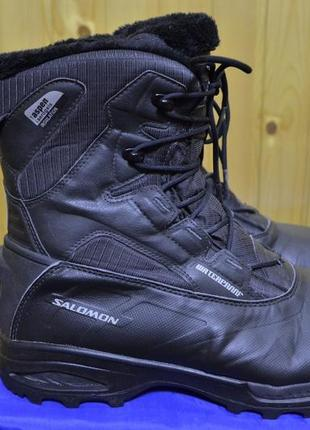 Мужские ботинки для альпинизма salomon toundra mid waterproof