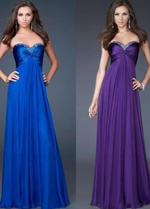 Потрясающее длинное платье на выпускной, вечернее длинное в пол. р-р xs-s