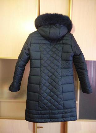 Зимняя очень теплая куртка3