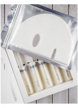 Набор для карбокситерапии лица (гель-активатор+маска) esthetic house co2