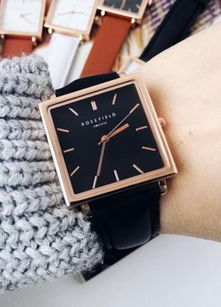 Часы в стиле rosefield годинник