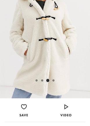 Пальто teddy coat