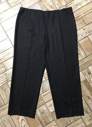 Роскошные шерстяные брюки графитового цвета,италия!!