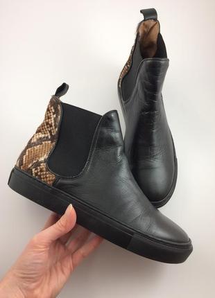 Tango шкіряні черевики челсі