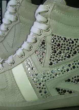 Сникерсы ботинки кроссовки брендовые richmond (ричмонд) италия, оригинал, 24.5 см