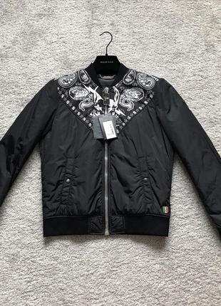 Куртка мужская philipp plein. брендовая куртка. бомбер оригинал.