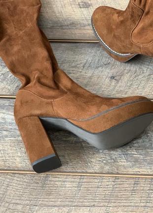 Сапоги на каблуке tamaris