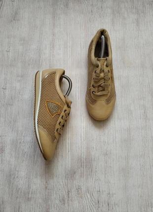 Roberto santi, кожаные спортивные туфли, кроссовки
