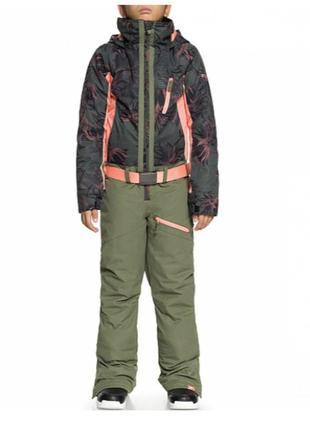 Сноубордический комбинезон, костюм roxy для девочки подростка - лыжный