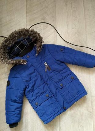 Куртка mothercare 12-18 большемерна