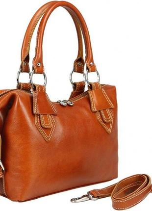 Шикарная кожаная сумка bottega carele