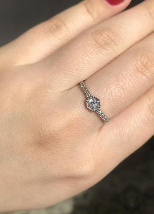 Кольцо серебряное обручальное колечко каблучка серебро с камнями обмен