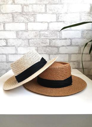 Капелюх канот'є • шляпа канотье
