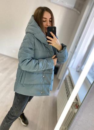 Куртка колокольчик для беременных| весенняя| демисезонная| свободная| трапеция4 фото