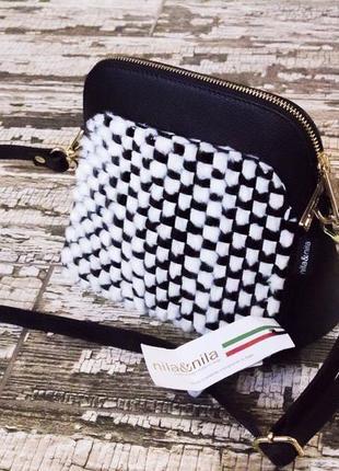 Кожаная женская сумочка nila&nila