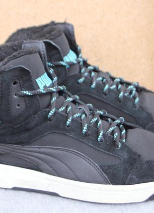 Зимние ботинки puma замша оригинал 45р кеды кроссовки