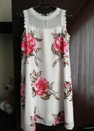 Красивое нарядное летнее платье! платье для беременных.