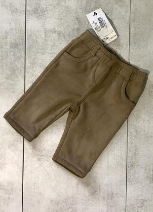 Замшеві штанішки kiabi