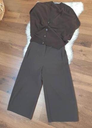 Юбка-брюки с эластичным поясом р.50-52