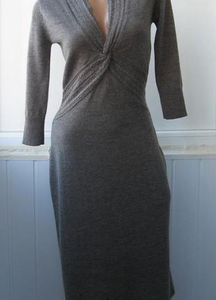 Платье теплое, шерстяное