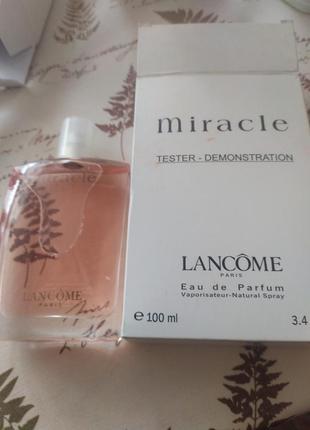 Lancome miracle тестер