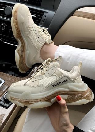 Шикарные женские кроссовки balenciaga / новая коллекция