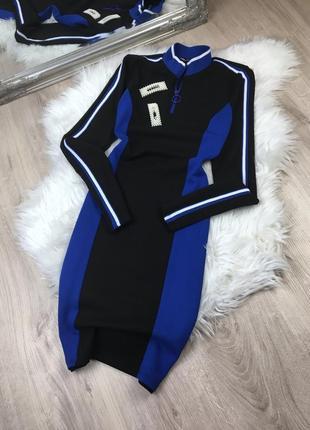 Платье вспортивном стиле