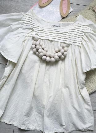 Блуза рубашка нарядная для беременности или на пышные формы