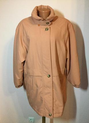 Фирменная курточка-+реглан на синтепоне/xl/ brend marks& spencer
